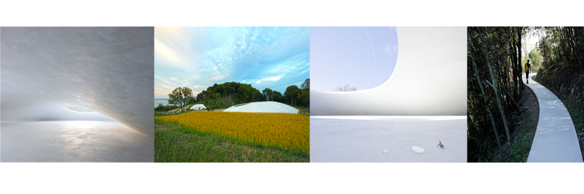 Teshima Art Museum - Collage