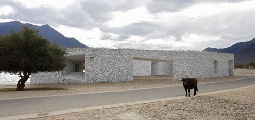 Visitor Center in Tibet