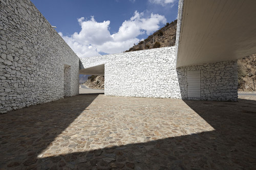 Visitor Center in Tibet