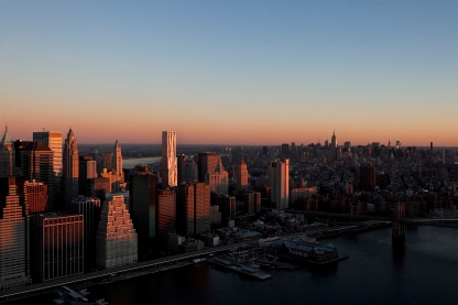 New York by Gehry - NYC view