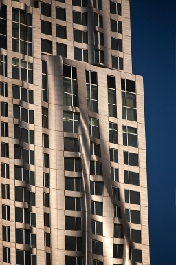 New York by Gehry - Facade view