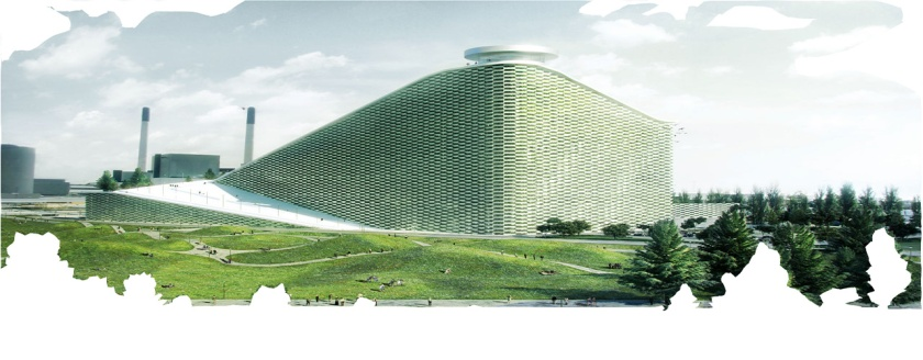 Sustainable power plant - Copenhagen, by BIG