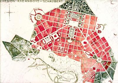 Athens Kleanthis+Schaubert_1832 - masterplan