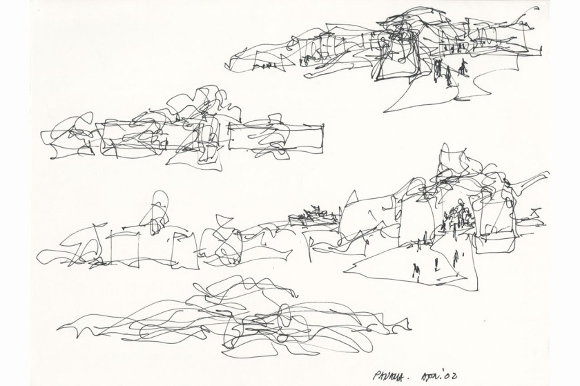 Biomuseo Panama - sketches