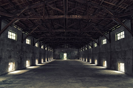 Empty old warehouse