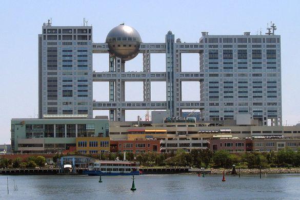 Kanzo tange_Fuji Television Building