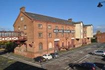 Midland Railway Grain Warehouse 1910