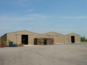 Modular building warehouse