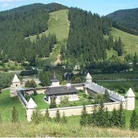 Monastery of Sucevita, Romania2