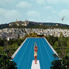 Strefi Pool Collage - Athens