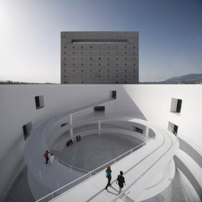 The MA, Andalusia Museum of Memory - Granada, Alberto Campo Baeza2