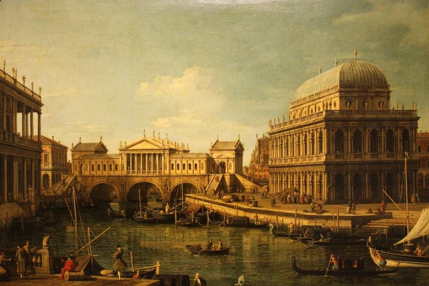 Capriccio Palladiano - Canaletto