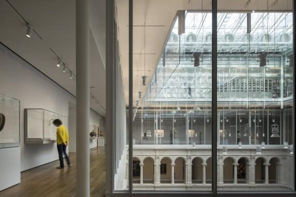Harvard Art Museums, Renzo Piano - Interior View4