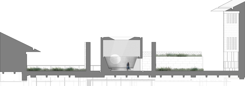 James Turrell – Skyspace – Section