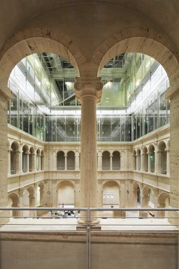 Harvard Art Museums, Renzo Piano - Interior View5