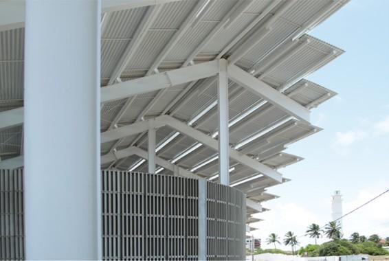 Arena do Morro - Roof detail1