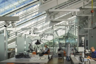 Harvard Art Museums, Renzo Piano - Interior View3