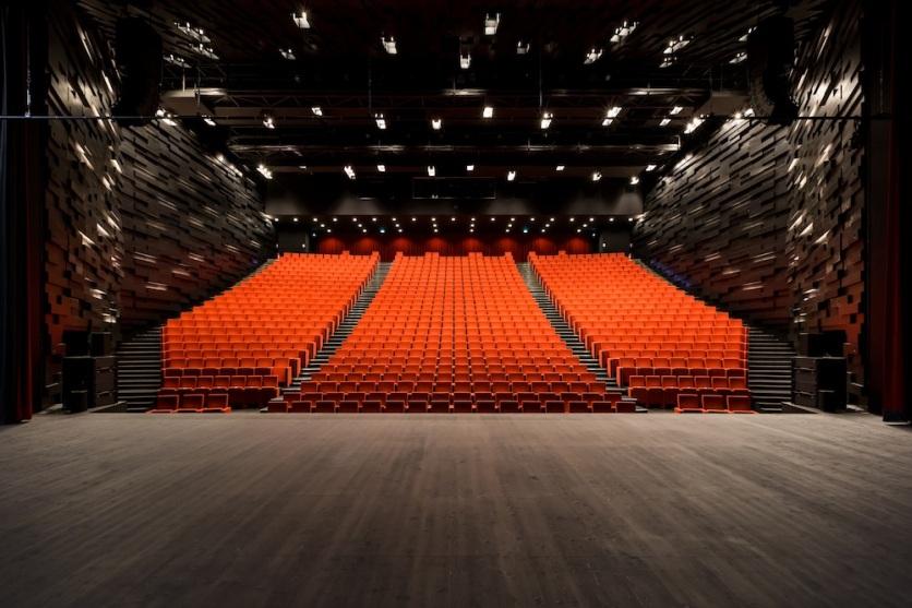 ALBI, Grand Theatre | Dominique Perrault - auditorium