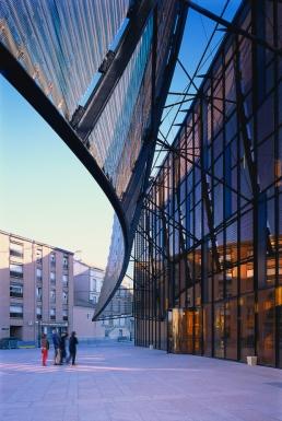 ALBI, Grand Theatre | Dominique Perrault - façade