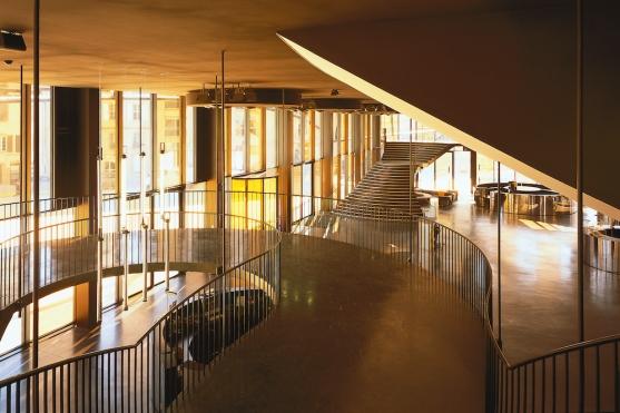 ALBI, Grand Theatre | Dominique Perrault - lobby 2