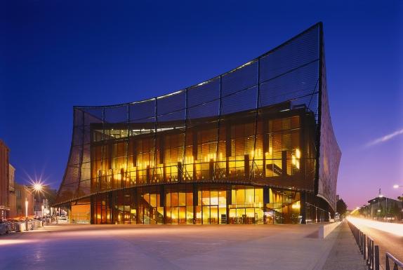 ALBI, Grand Theatre | Dominique Perrault - night view