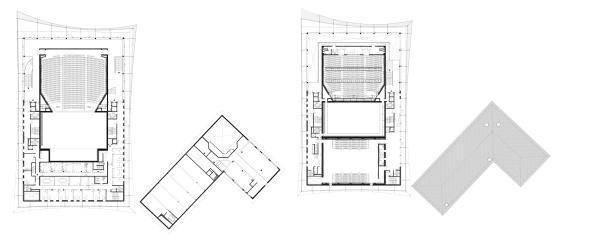 ALBI, Grand Theatre | Dominique Perrault - plans1