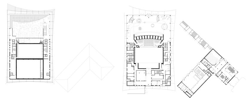 ALBI, Grand Theatre | Dominique Perrault - plans2