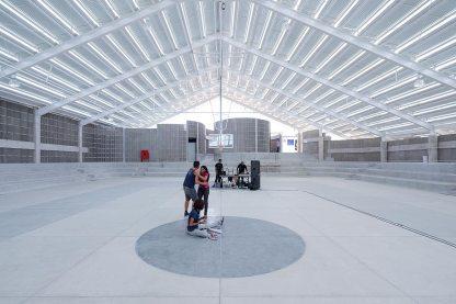 Arena do Morro - Interior view2