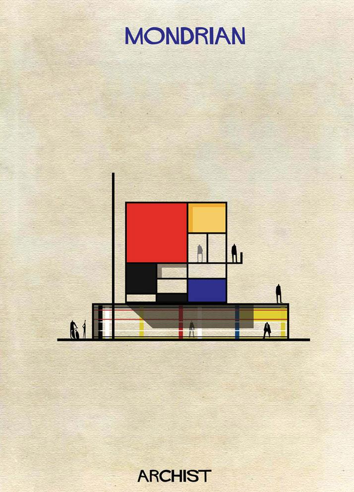 Babina, Archist - Mondrian Maison Schroder