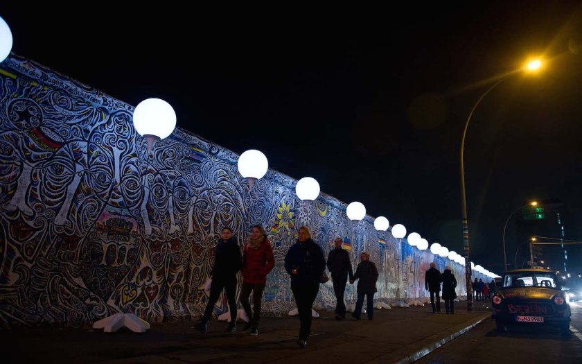 25 years later | Remembering the Berlin Wall through landscaping ...