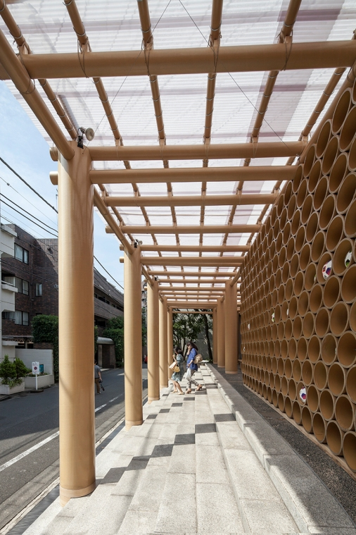 Embassy of Brazil | Tokyo, Japan | 2014 © Shigeru Ban