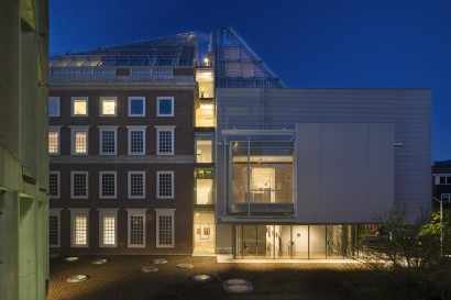 Harvard Art Museums, Renzo Piano - Night View