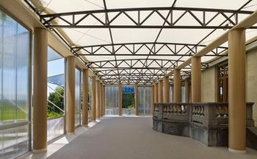 Museum Rietberg Temporary Pavilion | Zurich, Switzerland | 2013 © Shigeru Ban