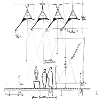 Renzo Piano - Menil Collection, sketch