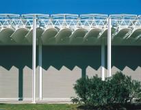 Renzo Piano - Menil Collection, closeup view