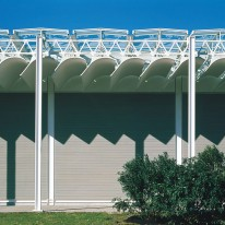 Renzo Piano - Menil Collection, closeup view