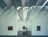 Renzo Piano - Menil Collection, interior view
