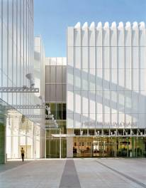 Renzo Piano - High Museum expansion, closeup view