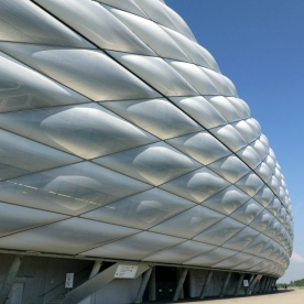 Herzog+DeMeuron | Allianz arena, shell closeup view