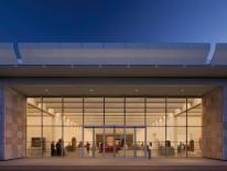 Renzo Piano - Resnick Pavilion, closeup view