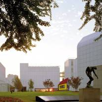 Renzo Piano - High Museum expansion, context view