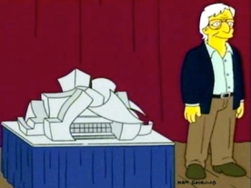 Frank O Gehry – Simpsons3