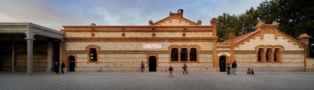 Matadero, Madrid - Churtichaga + Quadra-Salcedo (plaza view)