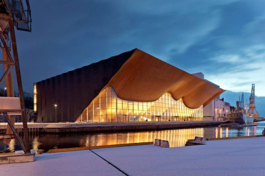 Kilden Performing Arts Centre, Norway - Ala Architects