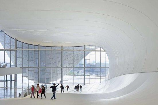 Heydar Aliyev Center, Azerbaijan - Zaha Hadid Architects