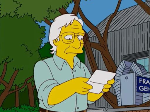 Frank O Gehry – Simpsons1