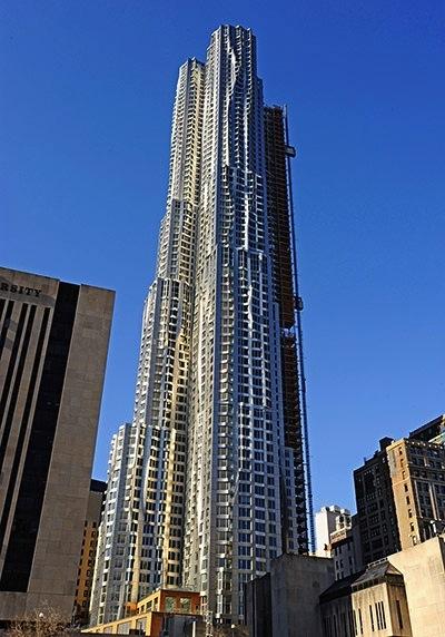 ew York by Gehry (Beekman Tower) – Manhattan