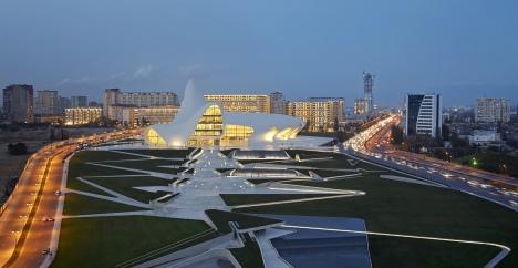 Heydar Aliyev Center, Baku - Zaha Hadid15
