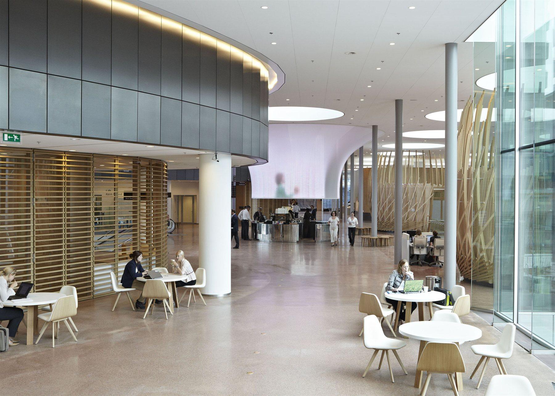 Rabobank hq sander architecten archiscapes for Interieur utrecht