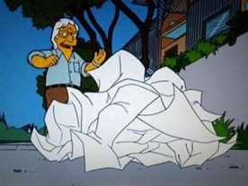 Frank O Gehry – Simpsons2